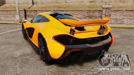 McLaren P1 2014 [EPM] for GTA 4