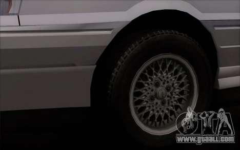 FSO Polonez Atu Orciari 1.4 GLI 16V for GTA San Andreas back left view