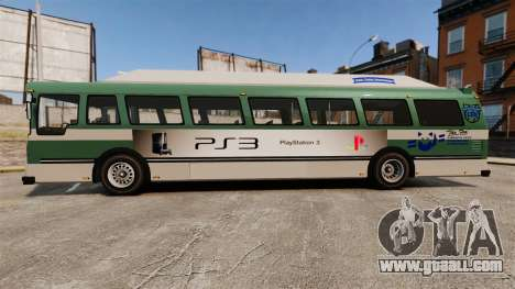Real advertising on taxis and buses for GTA 4 forth screenshot