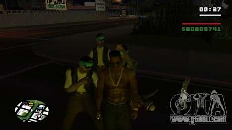 Brass Knuckles for GTA San Andreas sixth screenshot
