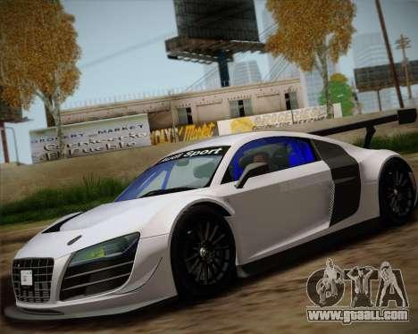 Audi R8 LMS Ultra v1.0.1 DR for GTA San Andreas