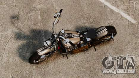 Harley-Davidson Knucklehead v2 for GTA 4 back left view