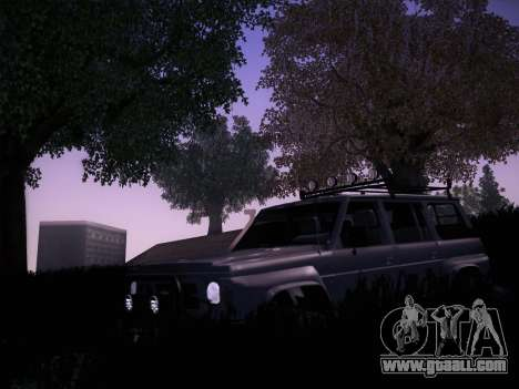 Nissan Patrol GR 1991 for GTA San Andreas back view