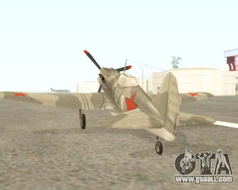 MIG-3 for GTA San Andreas right view