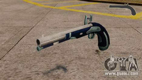 Flint-lock pistol for GTA 4