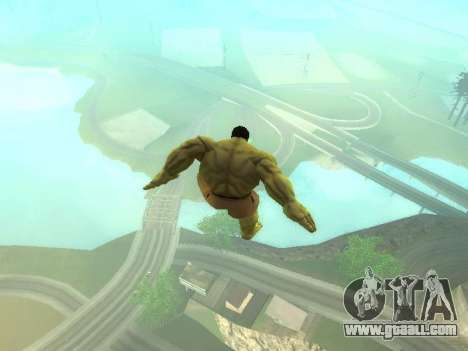 Hulk Jump for GTA San Andreas