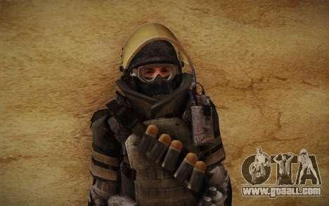 COD MW3 Heavy Commando for GTA San Andreas sixth screenshot