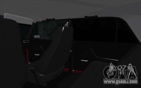 VAZ 2107 for GTA San Andreas engine