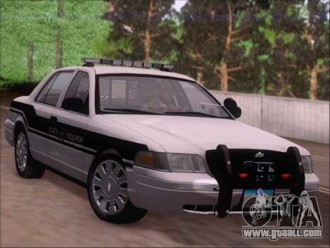 Ford Crown Victoria San Andreas State Trooper for GTA San Andreas