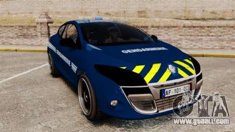Renault Megane RS Gendarmerie Nationale [ELS] for GTA 4