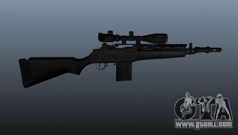 The M14 semi-automatic rifle for GTA 4 third screenshot