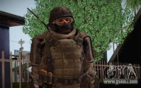 COD MW3 Heavy Commando for GTA San Andreas second screenshot
