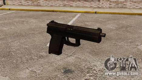 H&K MK23 Socom semi-automatic pistol for GTA 4