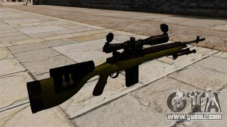 Cnajperskaâ rifle M14 DMR for GTA 4 second screenshot