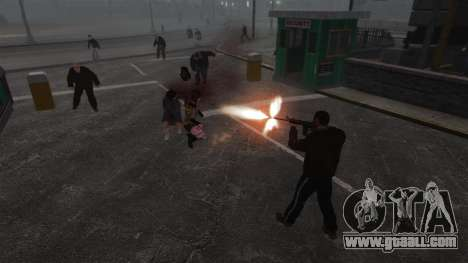 New Zombie-script for GTA 4 sixth screenshot
