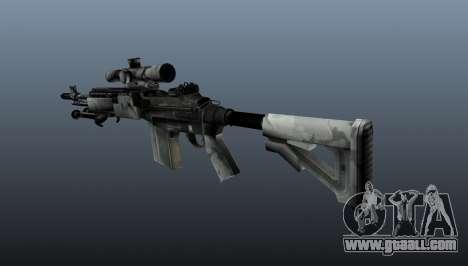 Sniper rifle M21 Mk14 v1 for GTA 4 second screenshot