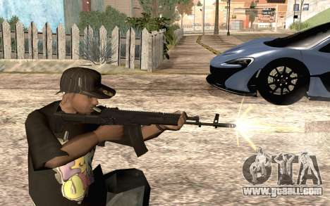 AK12 for GTA San Andreas forth screenshot