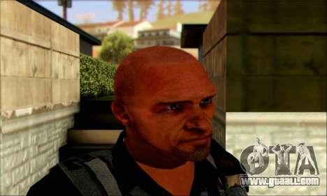 Sam from Far Cry 3 for GTA San Andreas third screenshot
