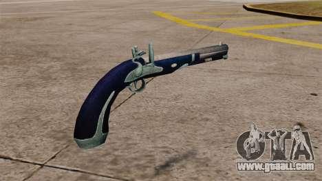 Flint-lock pistol for GTA 4 second screenshot