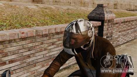 A collection of helmets Arai v1 for GTA 4 fifth screenshot