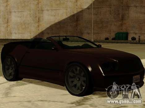 Cognocsenti Cabrio from GTA 5 for GTA San Andreas