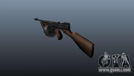 Thompson M1928 submachine gun for GTA 4 second screenshot