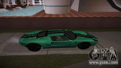 Ford GT TT Ultimate Edition for GTA San Andreas left view