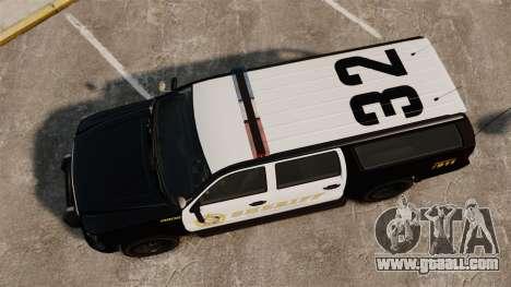 GTA V Declasse Granger Sheriff for GTA 4 right view