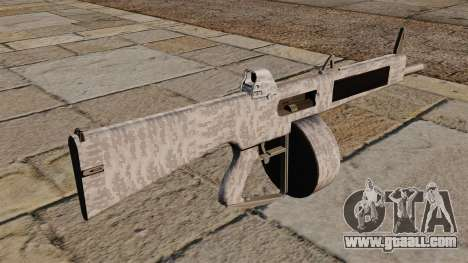 The AA-12 shotgun Winter for GTA 4 second screenshot