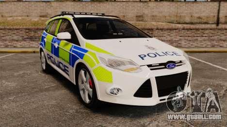 Ford Focus Estate Norfolk Constabulary [ELS] for GTA 4