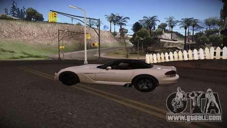 Dodge Viper SRT-10 Roadster for GTA San Andreas right view