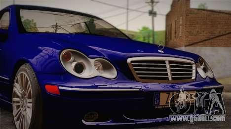 Mercedes-Benz C320 Elegance 2004 for GTA San Andreas back left view