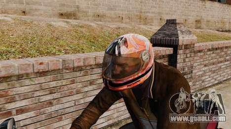 A collection of helmets Arai v1 for GTA 4 third screenshot