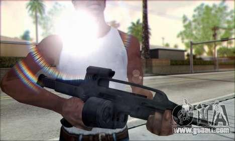 XM8 Para Drum Mag for GTA San Andreas