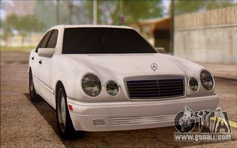 Mercedes-Benz E420 v2.0 for GTA San Andreas left view