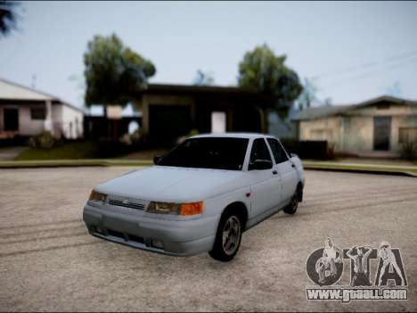 VAZ 2110 Restyling for GTA San Andreas