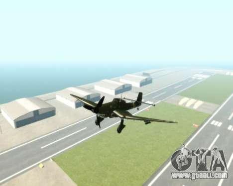 Junkers Ju-87 Stuka for GTA San Andreas right view