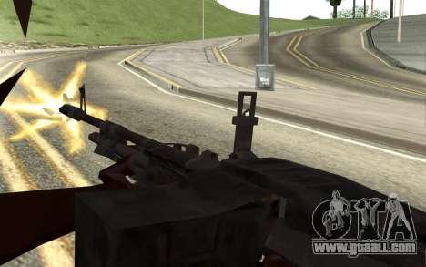 M60E4 for GTA San Andreas fifth screenshot