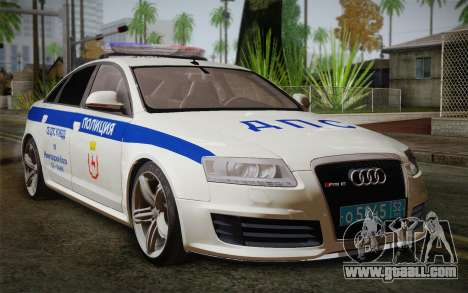 Audi RS6 Police for GTA San Andreas
