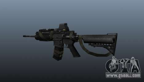 M4 Carbine Sopmod SIRS for GTA 4 second screenshot