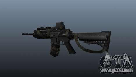 M4 Carbine Sopmod SIRS for GTA 4 second screenshot