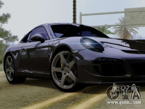 RUF RGT-8 for GTA San Andreas inner view