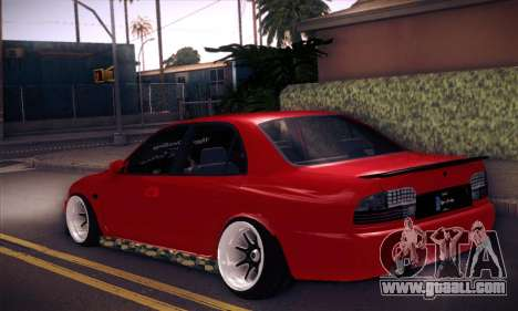 Proton Wira Hype for GTA San Andreas left view