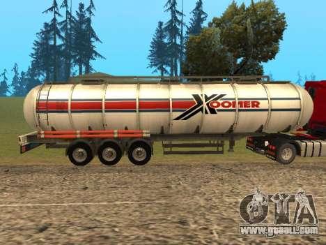 Tank Xoomer for GTA San Andreas left view