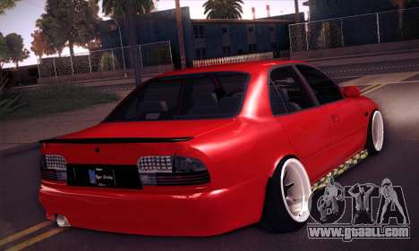 Proton Wira Hype for GTA San Andreas back view