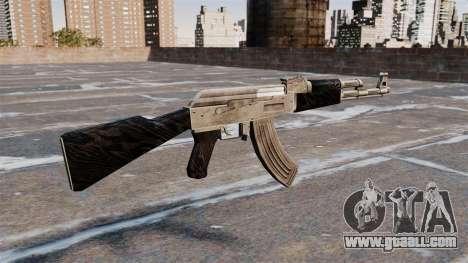AK-47 updated for GTA 4 second screenshot