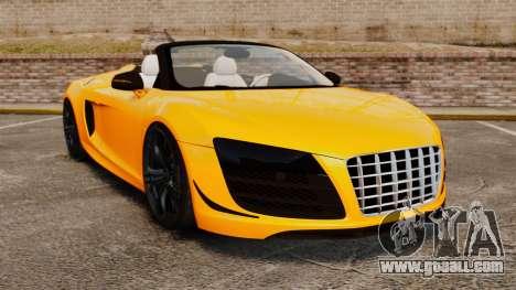 Audi R8 GT Spyder for GTA 4