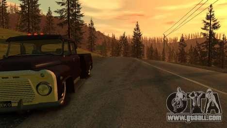 GAZ 53 for GTA 4 back view