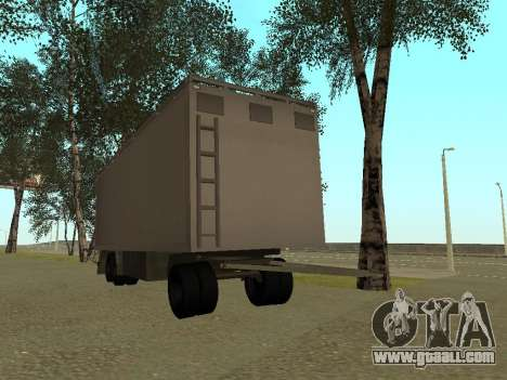 Trailer for Kamaz 54115 for GTA San Andreas