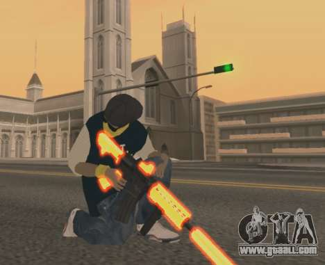 Vagos Gun Pack for GTA San Andreas second screenshot